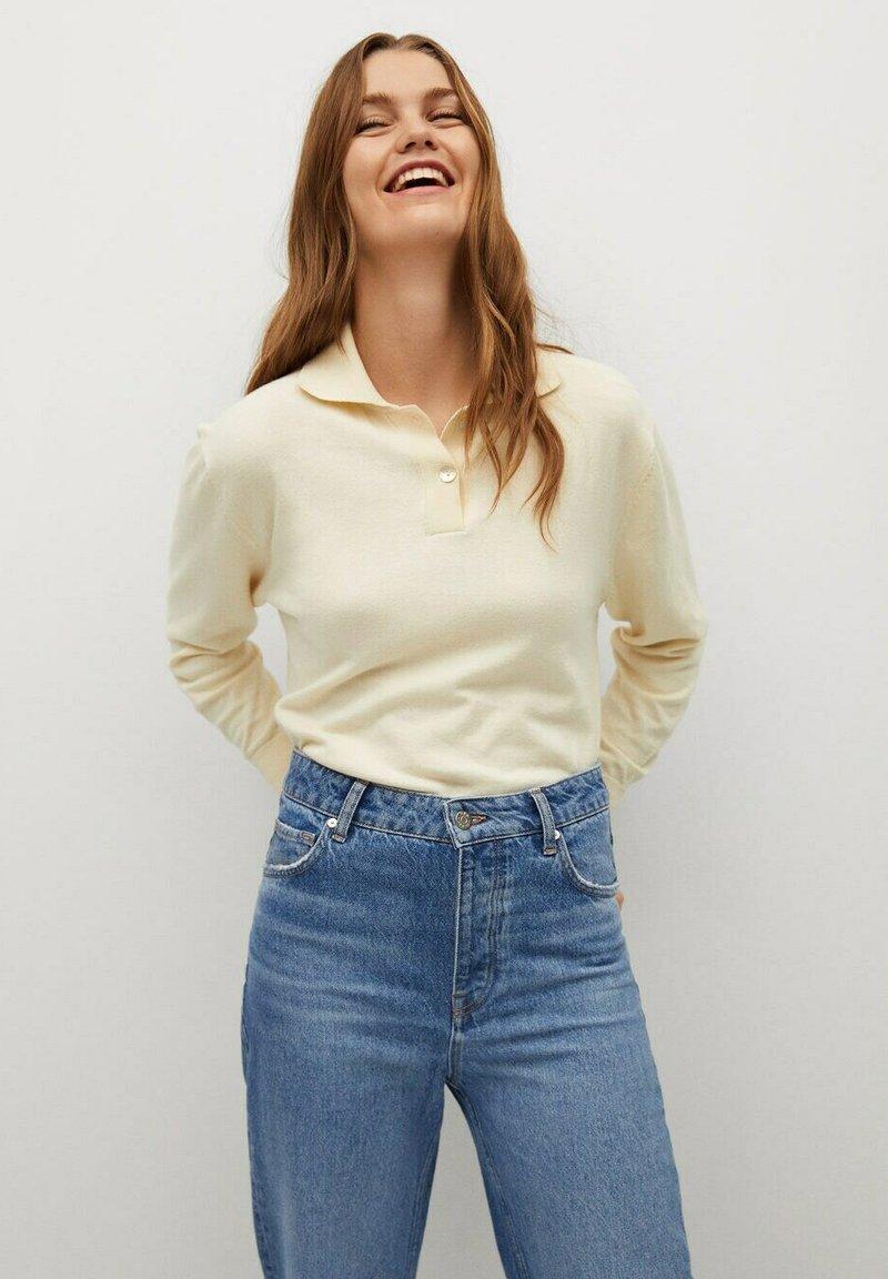 Mango - DANA-I - Polo shirt - ecru