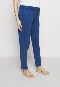 Gebe - TROUSERS FLORANCE - Kalhoty - indigo blue - 0
