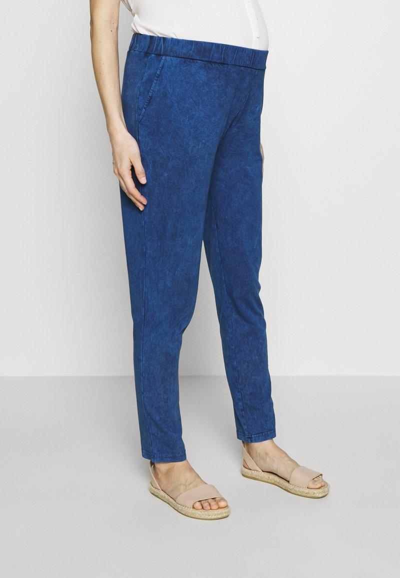 Gebe - TROUSERS FLORANCE - Kalhoty - indigo blue