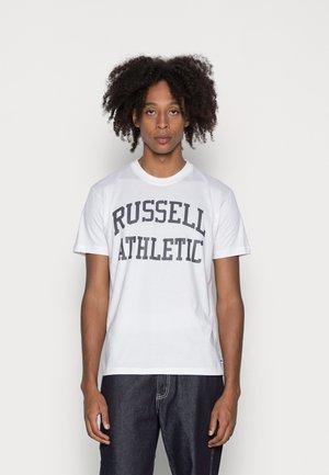 ICONIC- TEE - Print T-shirt - white