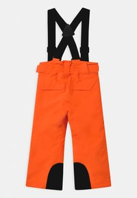 Ziener - ARISU UNISEX - Zimní kalhoty - neon orange - 1