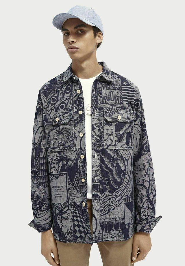 Summer jacket - indigo