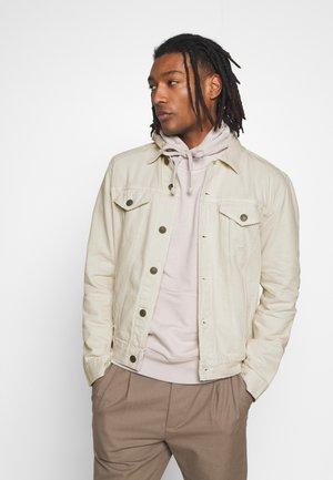 JACKET - Džínová bunda - white