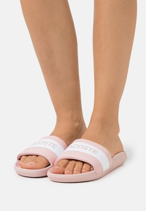 CROCO SLIDE  - Sandaler - light pink/white