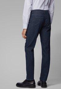 BOSS - ALBANY - Straight leg jeans - dark blue - 2