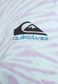 Quiksilver - SLOW LIGHT - T-shirt con stampa - blue tint - 5