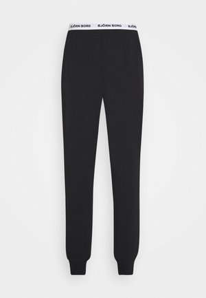 SOLID CLIFF CUFFED PANT - Nachtwäsche Hose - black beauty