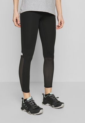 ACTIVE TRAIL MESH HIGH RISE TIGHT - Tights - black