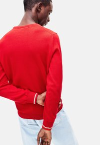 Lacoste - Sweatshirt - rouge / blanc - 1