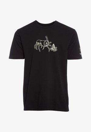 S. ZUBIZARRETA FA SS - T-shirt con stampa - black