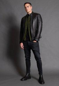 Tigha - ASHTON - Leather jacket - black - 0