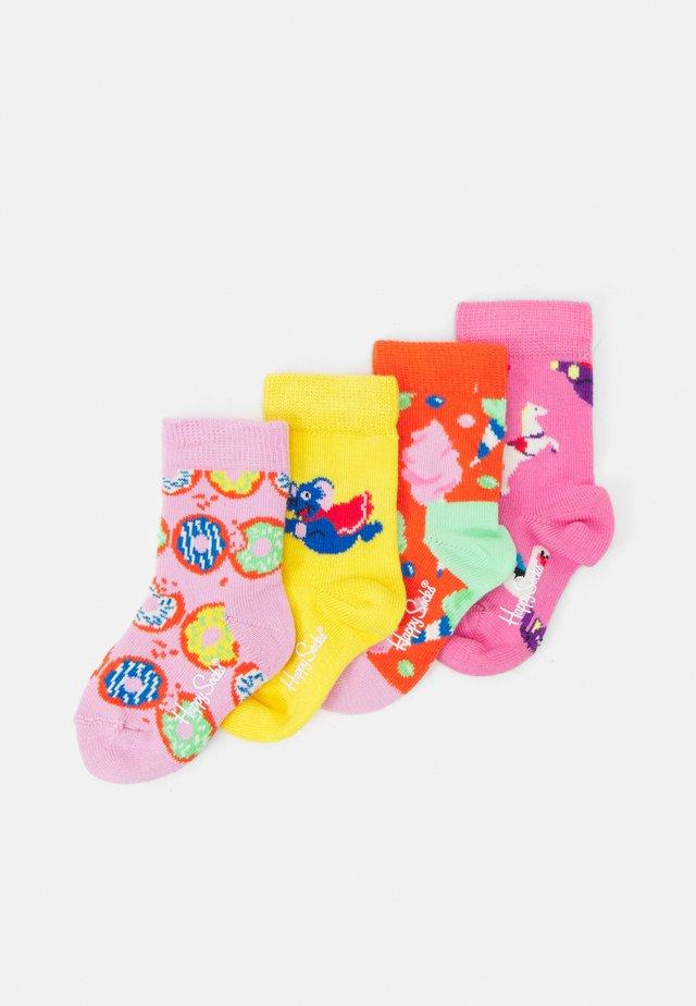 KIDS FUN FAIR CANDY SOCK 4 PACK UNISEX - Ponožky - multicoloured