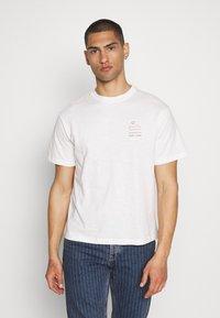 Pepe Jeans - SEWARD - Print T-shirt - optic white - 0