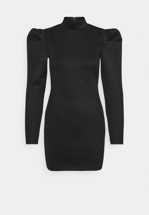 DIAMOND DRESS - Shift dress - black