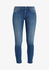 Lee - SCARLETT CROPPED - Jeansy Skinny Fit - blue denim - 4
