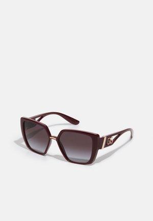 Sunglasses - transparent bordeaux