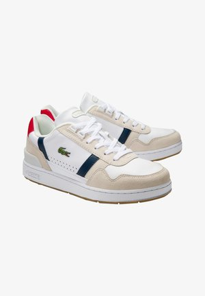 T-CLIP 0120 2 SFA - Baskets basses - wht/nvy/red