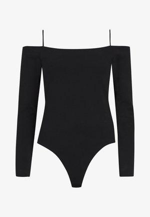 AUDERY BODYSUIT - Long sleeved top - black