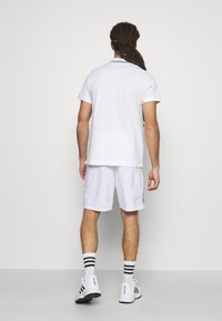 Lacoste Sport - DETAILED COLLAR - Poloshirt - white/black - 2