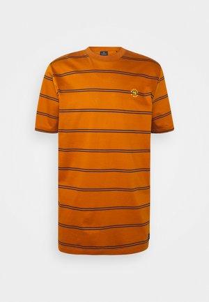 MERCERIZE - Print T-shirt - orange