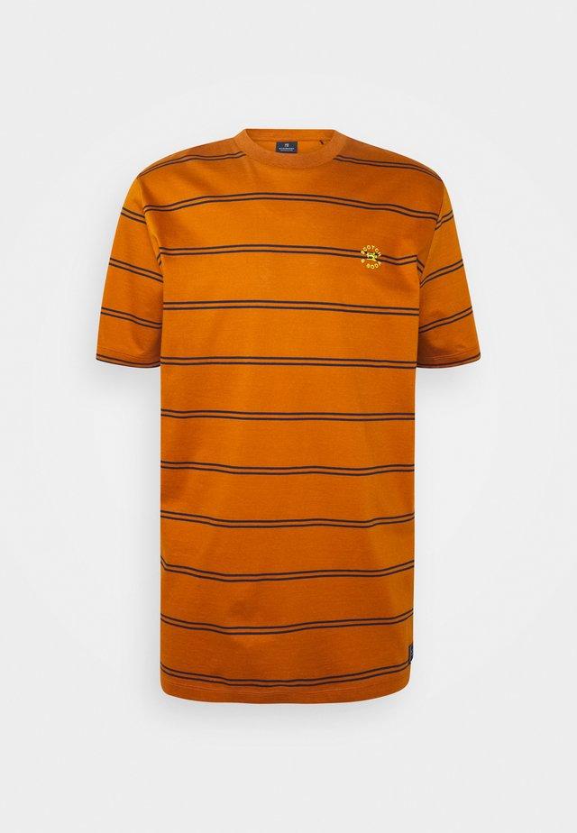MERCERIZE - Camiseta estampada - orange