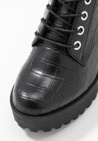 Even&Odd - Højhælede støvletter - black - 2