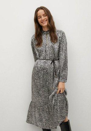 MIT GÜRTEL - Day dress - ecru