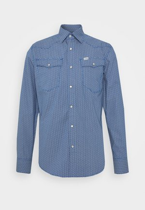 3301 SLIM SHIRT L\S - Camicia - deep true blue