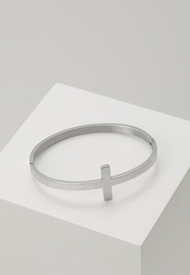 TERRITORY CUFF - Pulsera - silver-coloured