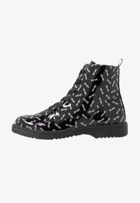 LIU JO - PAT BIKERS - Šněrovací kotníkové boty - black - 1