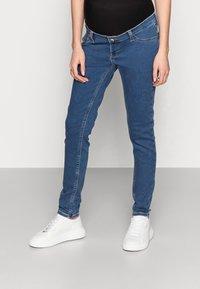 Anna Field MAMA - Jeans Skinny Fit - blue denim - 0