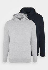 Burton Menswear London - HOOD 2 PACK - Hoodie - navy - 5