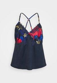 Simply Be - PRETTY SECRETS BOUTIQUE CROSS BACK CAMI - Pyjamas - dark blue - 1