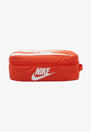 SHOEBOX UNISEX - Borsa per lo sport - orange/orange/white
