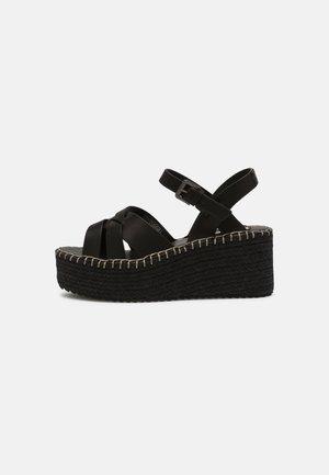 WITNEY RIVER - Platform sandals - black