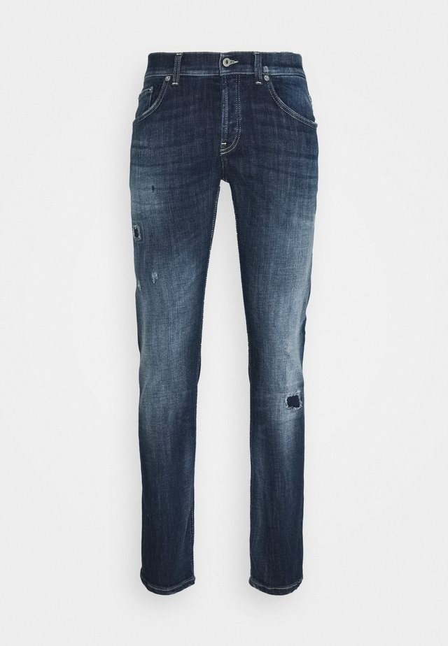 PANTALONE MIUS - Slim fit jeans - blue denim