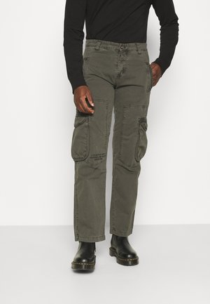 EDGE - Cargo trousers - grey