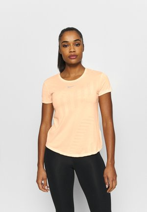 RUNWAY - Camiseta básica - melon tint/guava ice/heather/silver
