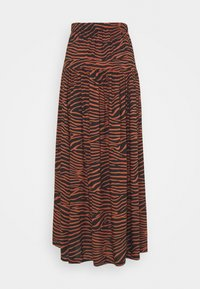 LASCANA - ZEBRA - Maxi skirt - multi-coloured - 1