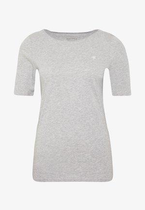 SHORT SLEEVE ROUNDNECK - Basic T-shirt - pebble melange