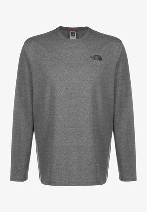 MENS BOX TEE - Maglietta a manica lunga - medium grey
