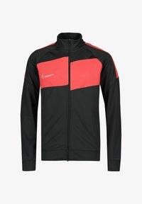Nike Performance - Training jacket - anthracite / bright crimson / white - 0