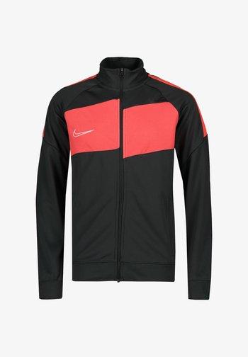 Training jacket - anthracite / bright crimson / white