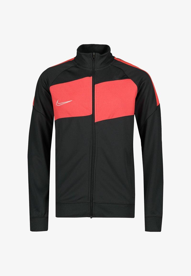 Nike Performance - Training jacket - anthracite / bright crimson / white