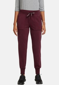 Esprit Sports - Tracksuit bottoms - bordeaux red - 3