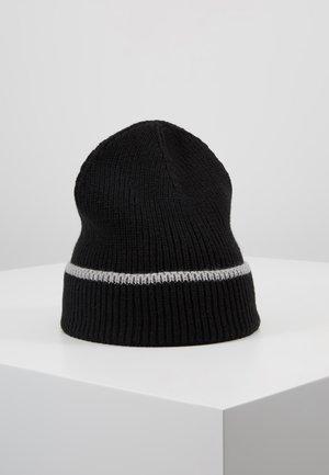 Čepice - black/light grey