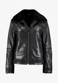 DNR Jackets - Leather jacket - black - 0