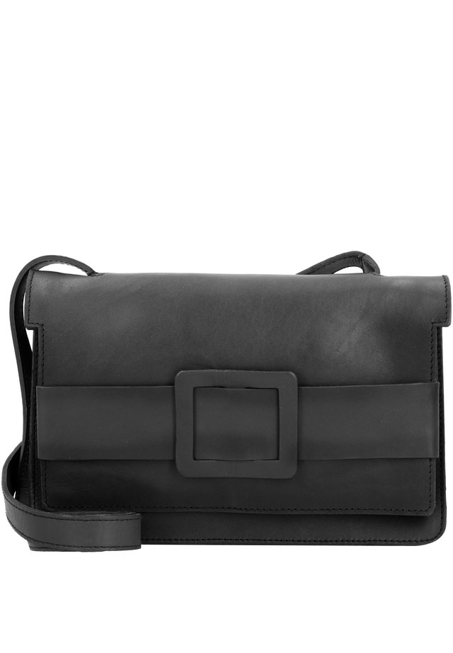ROSALIEGASSE 2 UMHÄNGETASCHE LEDER 28 CM - Across body bag - anthra