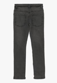 Benetton - TROUSERS - Jeansy Slim Fit - dark grey - 1