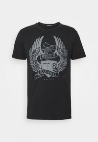 Replay - TEE - T-shirt con stampa - black - 5